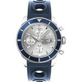 Breitling Superocean Heritage Chronograph Black Dial Mens Watch A1332016-G698BLRD