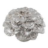 Vicenza Designs Carlotta Novelty Knob Metal in Gray, Size 1.5 D in   Wayfair K1217-PS