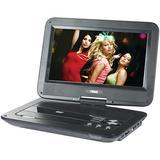 NAXA Electronics NPD-1003 10-Inch TFT LCD Swivel Screen Portable DVD Player with USB/SD/MMC Inputs