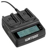 Watson Duo LCD Charger for BP-700 Series Batteries D-1536