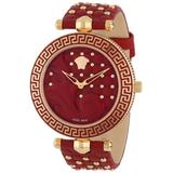 Versace Women's VK7050013 Analog Vanitas Rose Gold Ion-Plated Coated Stainless Steel Interchangeable Straps