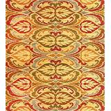 """KAS Oriental Rugs Lifestyles Collection Firenze Area Rug, 3'11"""" x 5'3"""", Gold"""