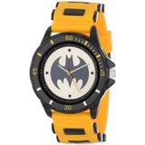 Batman Men's BAT9065 Yellow Rubber Strap Analog Watch