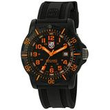 Luminox Men's 'Ops Carbon' Swiss Quartz Resin and Rubber Casual Watch, Color:Black (Model: 8819.GG)