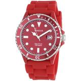 Freelook Men's HA1433-2 Sea Diver Jelly Red with Red Dial Watch