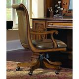 Hooker Furniture Brookhaven Desk Office Chair in Medium Clear Cherry