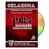 """Oklahoma Sooners 1986 Orange Bowl Championship Game DVD"""
