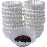 Melitta Basket-Style Coffeemaker Coffee Paper Filter, White