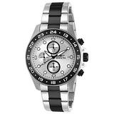 Invicta Men's 15209 Pro Diver Chronograph Silver Dial Two Tone Stainless Steel Watch