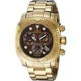 Invicta Men's INVICTA-14651 Pro Diver Analog Display Swiss Quartz Gold Watch
