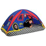 Pacific Play Tents Red Racer Bed Tent, Multicolor