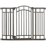 Summer Infant Extra-Tall Walk-Thru Gate - Bronze, Multicolor