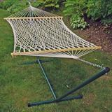 Algoma Rope Hammock and Stand - Outdoor, White