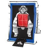 Franklin Sports MLB 2-in-1 Pitch Target and Return Trainer, Multicolor