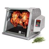 Ronco 5500 Series Stainless Steel Rotisserie Oven, Grey