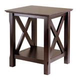 Winsome Xola End Table, Brown, Furniture