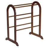 Winsome Quilt Rack, Brown, Furniture