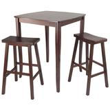 Winsome Inglewood 3-pc. Pub Dining Table Set, Brown, Furniture