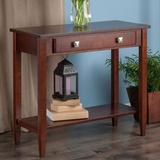Winsome Richmond Console Table, Brown
