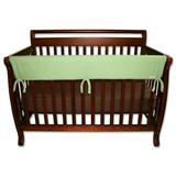 """""""Trend Lab Solid Convertible Crib Rail Cover, Green, 51"""""""""""""""
