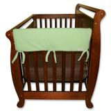 """""""Trend Lab 2-pk. Solid Convertible Crib Side Rail Covers, Green, 27"""""""""""""""