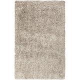 Surya Milan MIL-5001 Shag Hand Woven 80% New Zealand Wool / 20% Pol Papyrus 8' x 10' Area Rug