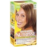 Garnier Nutrisse Haircolor, 70 Dark Natural Blonde Almond Creme (Pack of 3)