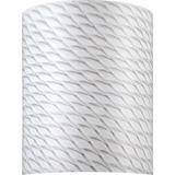 "Volume Lighting GS-591 12"" Height White Frit Glass Round Shade White Frit"