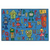 Carpets for Kids KID Value Rugs Tufted Area Rug Nylon in Blue, Size 48.0 W x 0.25 D in | Wayfair 48.79