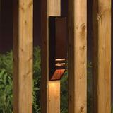 Kichler Low Voltage Hardwired Deck Light in Brown, Size 6.0 H x 1.5 W x 1.25 D in | Wayfair 15066AZT