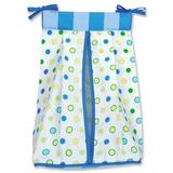 """Trend Lab Dr. Seuss Oh The Places You""""ll Go Crib Diaper Stacker, Cotton in Blue, Size 20""""H X 12""""W X 8""""D 