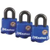Master Lock Company Weatherproof Padlock, Size 7.5 H x 5.56 W x 1.5 D in | Wayfair 312TRI