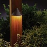 Kichler Low Voltage Hardwired Deck Light in Brown, Size 2.5 H x 4.0 W x 2.5 D in | Wayfair 15065AZT