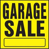 Hy-Ko Garage Sale Sign Plastic in Yellow, Size 11.0 H x 11.0 W x 0.03 D in | Wayfair YP-3