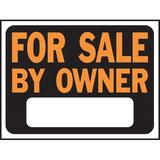 Hy-Ko For Sale By Owner Sign Plastic in Orange, Size 0.02 H x 12.0 W x 9.0 D in   Wayfair 3007