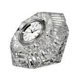Waterford Lismore Diamond ClockCrystal, Size 4.32 H x 5.9 W x 5.9 D in   Wayfair 024258507142