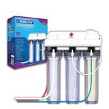 Coralife Pure Flo II Reverse Osmosis 3 Canister System, 50 GPD, 16.5 IN