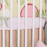 Brandee Danielle Minky Bubbles Fitted Crib Sheet Cotton Blend in Pink, Size 6.0 H x 28.0 W x 52.0 D in   Wayfair 171SHBP