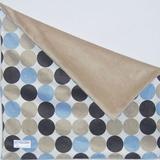 Brandee Danielle Minky Dot Binky Blanket Cotton Blend in Blue, Size 18.0 H x 18.0 W in | Wayfair 193MKMBC