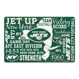 WinCraft New York Jets 11'' x 17'' Wordmark Wood Sign
