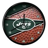 New York Jets 12'' Football Clock