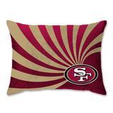 San Francisco 49ers 20'' x 26'' Wave Raschel Plush Bed Pillow