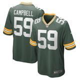 Men's Green Bay Packers De'Vondre Campbell Nike Game Jersey