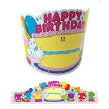 Carson Dellosa Birthday Crowns for Kids, 23.5-inches in Length, Pack of 30