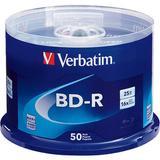 Verbatim 25GB BD-R Blu-ray 16x Discs 50-Pack Spindle 98397Q