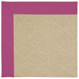 """Capel Creative Concepts Cane Wicker Canvas Hot Pink 515 Runner 2' 6"""" x 10'"""
