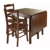 Winsome Lynden 3-pc. Drop Leaf Dining Table and Chair Set, Brown