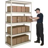 Hallowell Rivetwell Shelving FrameWire/Metal, Size 120.0 H x 72.0 W x 30.0 D in | Wayfair DRH7230120-5S