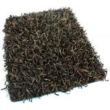 Bling Shag Area Rug (Many Size and Colors Available) (Chocolate, 2' x 3')
