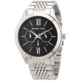 Michael Kors MK8305 Mens Silver Brookton Chronograph Watch